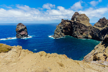 East coast of Madeira island Ponta de Sao Lourenco