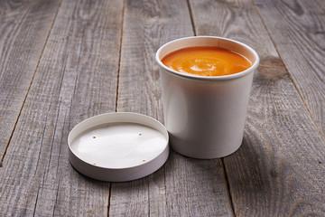 pumpkin soup take away