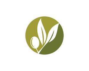 olive logo template