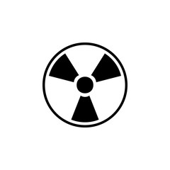 sign of radiation icon. Detailed icon of ecology signs icon. Premium quality graphic design. One of the collection icon for websites, web design, mobile app