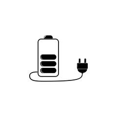 battery charge icon. Detailed icon of ecology signs icon. Premium quality graphic design. One of the collection icon for websites, web design, mobile app