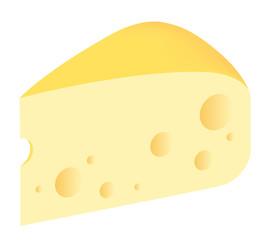 チーズ 白背景