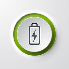 icône bouton Pile Energie