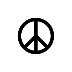 Peace Symbol icon Vector illustration, EPS10