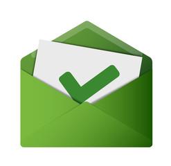 Open Envelope - Check Mark