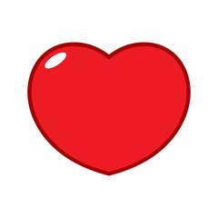 Cartoon Heart Illustration