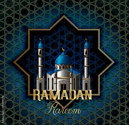 Ramadan kareem beautiful greeting card with islamic calligraphy ramadan kareem beautiful greeting card with islamic calligraphy which means ramadan kareem m4hsunfo