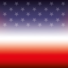 flag of united states blurred texture design