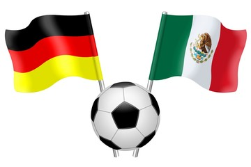 Flags. Group F. Germany  –  Mexico