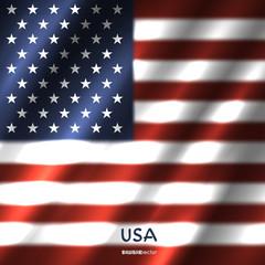National USA flag background