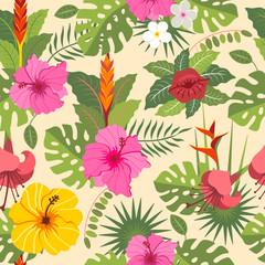 tropical seamless pattern 3