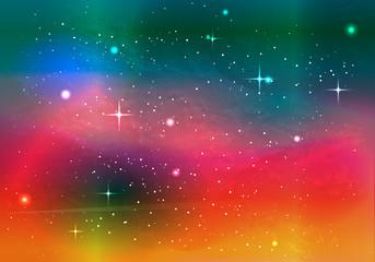 カラフル宇宙09