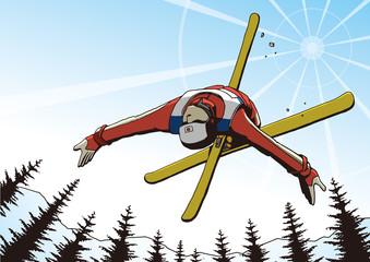 スキー エアリアル