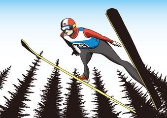 スキー ジャンプ