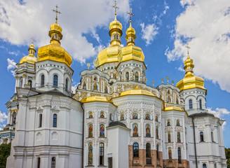 Foto op Aluminium Kiev Kiev archiyecture, Pechersk Lavra church building, Ukraine