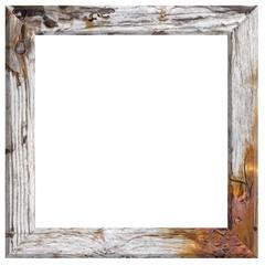 cadre carré bois grunge