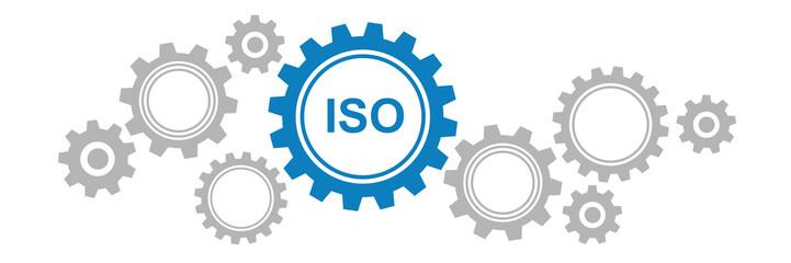 Zahnräder Banner - ISO
