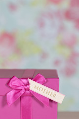 Mother's day gift isolated