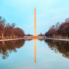 Zimowy Waszyngton - fototapety na wymiar
