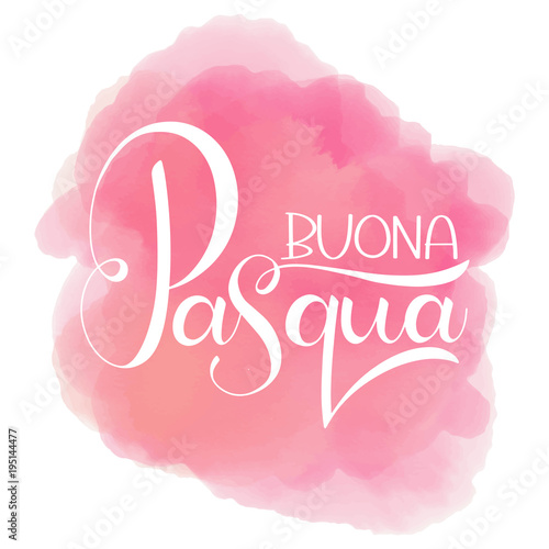 Buona pasqua colorful lettering happy easter colorful lettering in buona pasqua colorful lettering happy easter colorful lettering in italian hand written easter phrases m4hsunfo