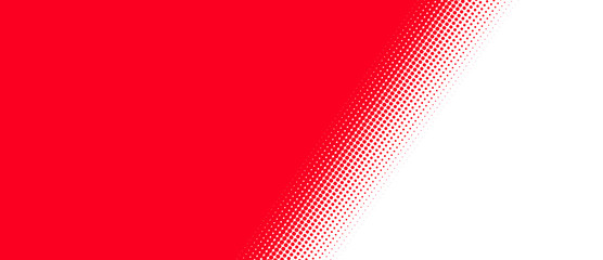 Rot weißer Hintergrund mit diagonalem Übergang Fototapete