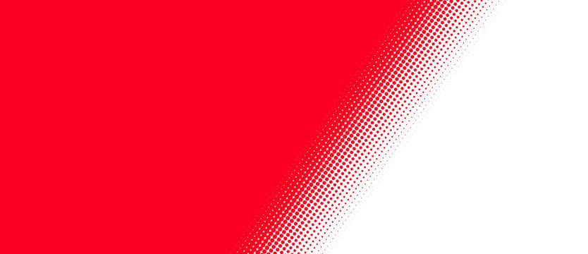 Rot weißer Hintergrund mit diagonalem Übergang