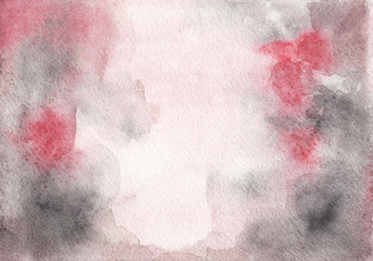 Abstract watercolor pink and gray texture. Background for design