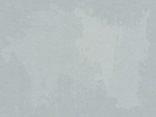 Grunge, scratched grey background with white spots.