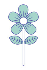 flower leave decoration natural icon
