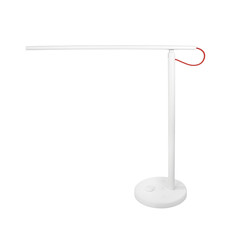 Smart table lamp isolated on white