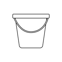 plastic bucket container handle tool