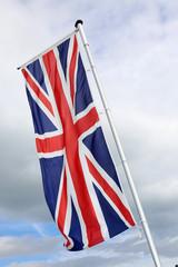 Wehende Fahne Großbritannien