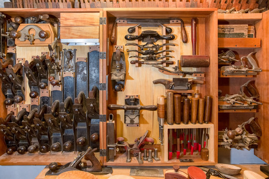 Woodworkers Vintage Tool Chest