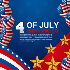 Happy independence day of the usa