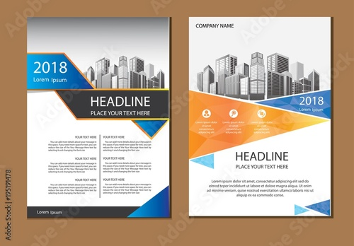 design cover book poster a4 catalog book brochure flyer layout