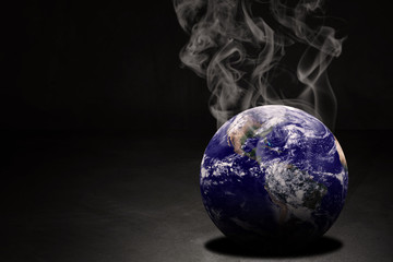 Global Warming and Pollution Concept