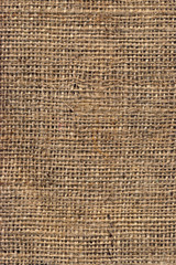 High Resolution Natural Brown Burlap Canvas Coarse Grain Grunge Background Texture