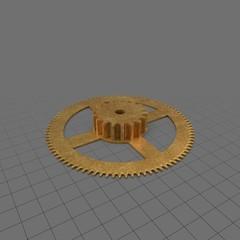 Clock gear 2
