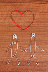 Safety pins as a family