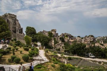 Panorama und Sehenswürdigkeiten von Les Baux-de-Provence