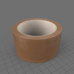 Roll of brown packing tape