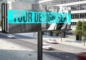 City Billboard Mockup 2