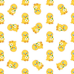chicken baby pattern