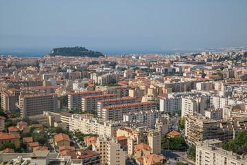 Panorama von Nizza, Frankreich