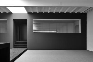 empty minimalist office