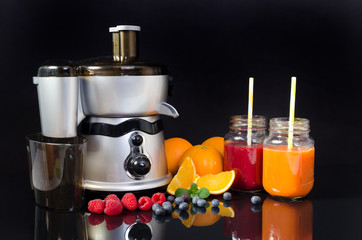 Electric juicer, prepare fresh juice