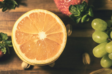 Grapefruit for positive mood