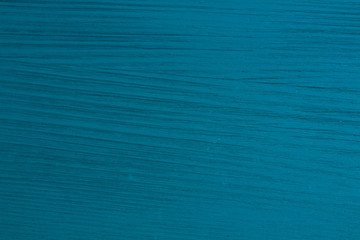 Natural wooden pattern background of aqua blue painted pine