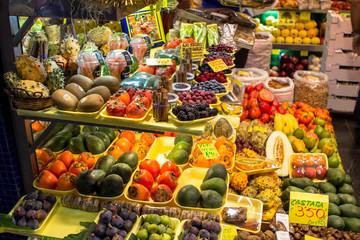Abundance of fruits and vegetables