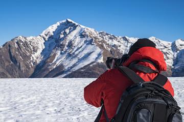 Fotografo tra i monti
